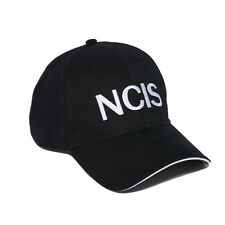 NCIS Black Baseball / Outdoor Cap Embroidered Hat Party Costume New