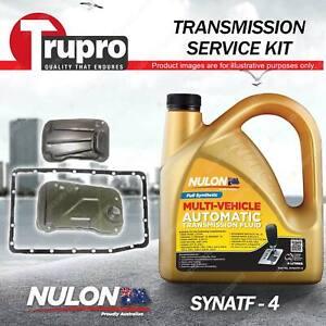 Nulon SYNATF Transmission Oil + Filter Service Kit for Toyota Hilux GGN15 GGN25
