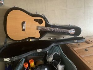 Roadking Guitar Tacoma RM26C With Fish man Prefix plus Electric With Case