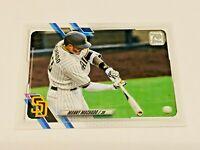 2021 Topps Baseball Base Card #192 - Manny Machado - San Diego Padres