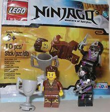 Lego 5002144 Ninjago Dareth ( brauner Ninja ) + Nindroid Kämpfer OVP