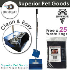 Superior Pet Goods Super Pooper Scooper-Dog Cat Puppy Toilet Waste Bag Clean up