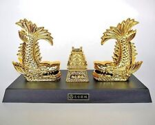 Japanese Shachihoko 2 set  gold Nagoya Souvenir MADE IN JAPAN