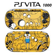 Vinyl Decal Skin Sticker for Sony PS Vita PSV 1000 Adventure Time Jake Finn