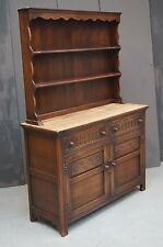 Old Charm Oak Dresser Cupboard Vintage Antique Sideboard - We Can Deliver