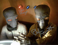 JON BERG PHIL TIPPETT SIGNED AUTOGRAPHED 11x14 PHOTO ILM STAR WARS BECKETT BAS