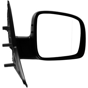 VW Transporter T5 2003-2010 Manual Black Door Wing Mirror Drivers Side Right