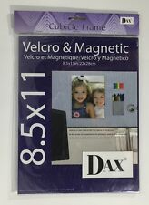 DAX Clear Frame Attach to Your Cubicle Wall File Cabinet or Refrigerator 8.5x11