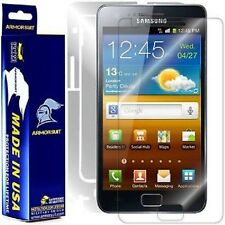 ArmorSuit MilitaryShield Samsung Galaxy S2 International Screen + Full Body Skin