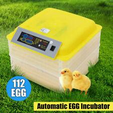 Automatica 112 uova Controllo Incubatrice Della Temperatura del Pollo Incubator