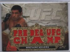 MINOTAURO NOGUEIRA 2014 Topps UFC Knockout Triple Threads Relic 28/36