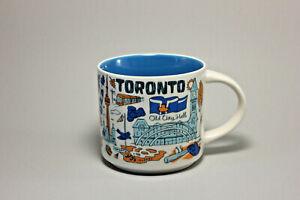 Starbucks Been There Series Toronto Ceramic Coffee/Tea Mug 2018 14 oz.