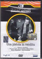 Dvd Sceneggiati Rai «UNA PISTOLA IN VENDITA» con Corrado Pani completa 1970