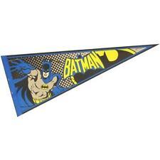 Batman - Logo Rétro TISSU STYLE DRAPEAU FANION - NEUF & Officiel DC Comics