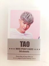 TAO EXO XOXO Photo Mini Post Card 56 Sheets KPOP Korean Pop Star Music