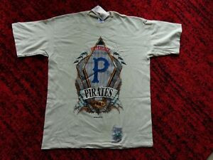 Pittsburgh Pirates Cooperstown T-Shirt 1909 Old School Logo  by Starter