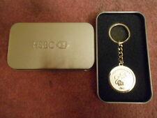"""New HSBC Logo & 2016 Year Of The Monkey Gold Tone Medallion Keychain - 3.5"""""""