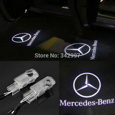 2x LED door step courtesy laser projector lights For Mercedes GL450 X164 2006-12