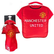 Back to School with Manchester United FC Kit Lunch bag and Bottle