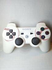 Sony PS3 Playstation 3 MLB - Baseball Dualshock 3 White Controller Rare CECHZC2U
