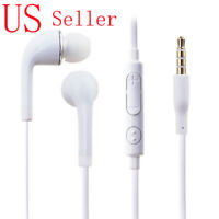 3.5mm Headset Earphone Headphone Earbud Remote+Mic Samsung Galaxy S4 S5 Note 3 4