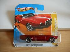 Hotwheels '63 Ford Mustang II Concept in Red on Blister