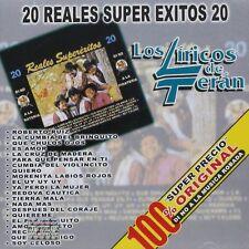 Los Liricos de Teran 20 Reales Super Exitos CD New Nuevo Sealed