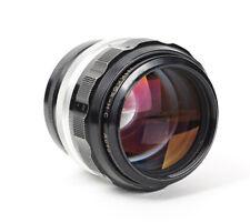 Nikon Nikkor H-C Auto 1.8/85mm f/1.8 85mm mount Nikon F No.396996