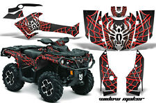 CanAm SST G2 AMR Racing Graphic Kit Wrap Quad Decal ATV 2013-2014 WIDOW MAKER RD