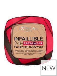 L'Oreal Paris Infallible 24H Fresh Wear Powder Foundation 120 Vanilla