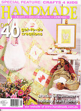 Handmade - craft decorating sewing 40 projects Vol 25 no 3