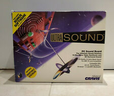 ADVANCED GRAVIS ULTRASOUND Rev 2.2 ISA sound card with 1MB COMPLETE IN BOX GUS