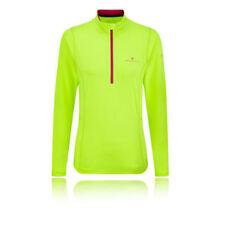 Maglie e top da donna verdi per palestra , fitness , corsa e yoga s