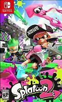 Splatoon 2 Nintendo Switch Brand New Sealed