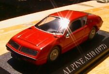 ALPINE RENAULT A310 1972 IXO 1/43 RED ROSSO ROUGE ALTAYA A 310 ROT DIE CAST