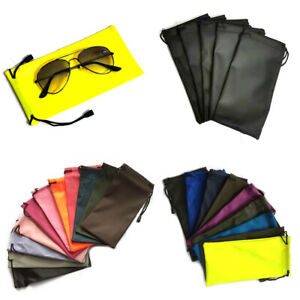 2X or 5X Glasses Sunglasses Pouch Phones Spectacles Wallet Drawstring Soft Case