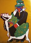 Red Grooms  Mango Mango Orig serigraph on paper HAND SIGNED GREAT INVESTMent