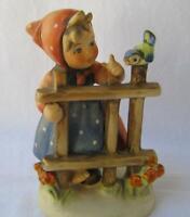 M I Hummel Goebel Porcelain Figurine SIGNS OF SPRING Germany Mother's Day Gift