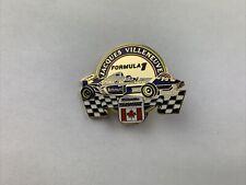 Formel1 Jacques Villeneuve Williams Renault Rothmans Pin Anstecker