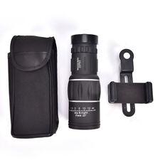 16x52 Zoom Hiking Monocular Telescope Lens Camera HD ScopeHunting +PhoneHolderEP