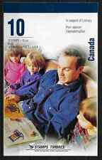 Canada - Booklet Pane of 10 - 1996, In Support of Literacy #B13 BK193 - MNH