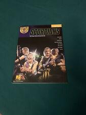 Hal Leonard Guitar Play Along Scorpions