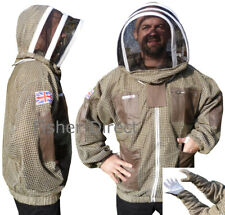 🐝Bee Jacket 3 Layer Ultra Ventilated Green Beekeeping Jacket with gloves