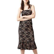 Warehouse Strapless Premium Lace Dress Black Size 10 rrp £155.00 SA079 FF 20
