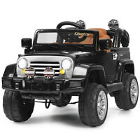 12V MP3 Kids Ride On Truck Car RC Remote Control with LED Lights Music Toys New