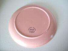 "California Modern Santa Anita Ware Pink Dinner Plate 10-1/2"" pottery"