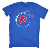 Funny T Shirt - F Bomb - Birthday Joke Humour tee Gift Novelty tshirt T-SHIRT