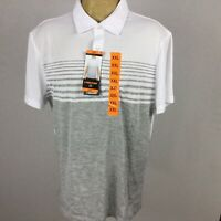 Head Mens Size XXL New Icon Polo Stark White Athletic Top Shirt Collared. T