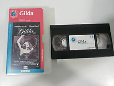 GILDA VHS TAPE CINTA COLECCIONISTA RITA HAYWORTH GLENN FORD CHARLES VIDOR