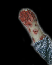 Bloody Arm Stump Zombie Rubber Glove Costume Accessory Body Part Halloween Prop